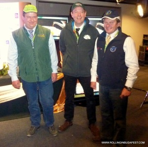 Four-in-hand - first three winners