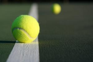 Balls on the Tennis Court    - Budapest