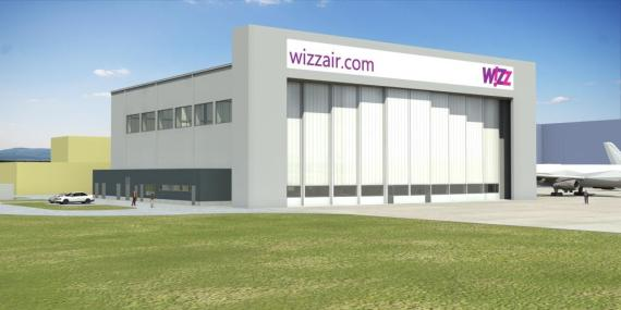 Wizz hangar visual