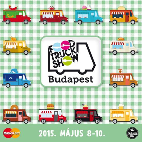 Food Truck Show Budapest 2015.