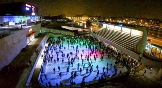 Ice Rink - Arena Plaza 2015