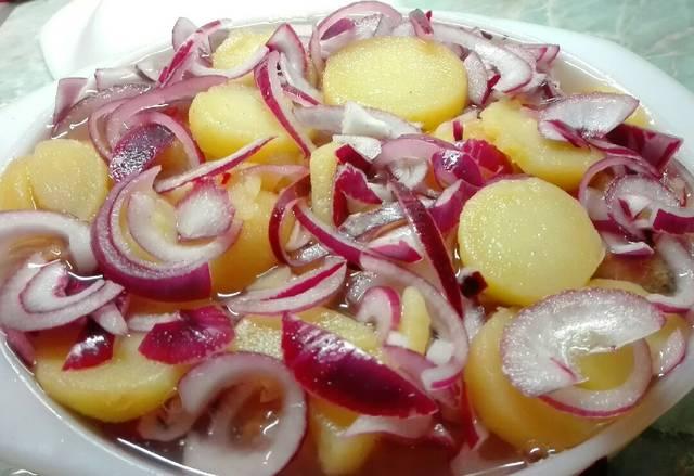Potato Salad Recipe Red Onion
